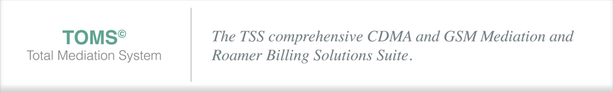CDMA and GSM Mediation and Roamer Billing Solutions
